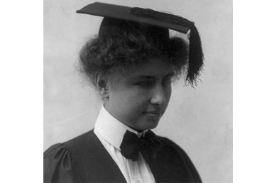 Helen Keller: 'Some day I shall go to college – but I shall go to Harvard!'