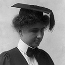 Helen Keller: 'Some day I shall go to college - but I shall go to Harvard!'