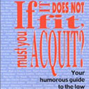 Book Review: If it Does Not Fit, Must you Acquit?