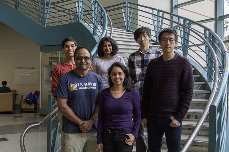 A research group with international faculty and students