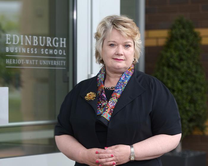 Professor Heather McGregor is Executive Dean of Edinburgh Business School