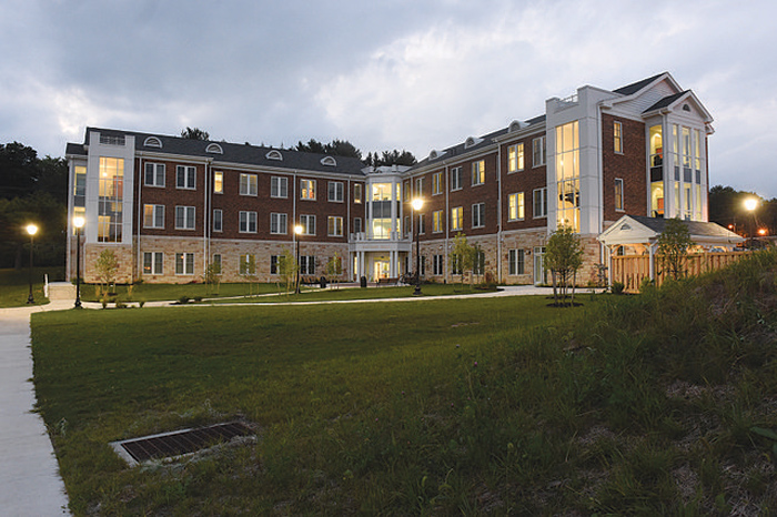 Nathan Hall at Juniata College, Pennsylvania (photo by Jason Jones