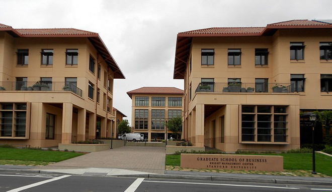 Stanford University's Graduate School of Business (photo by Nathan Hughes Hamilton)