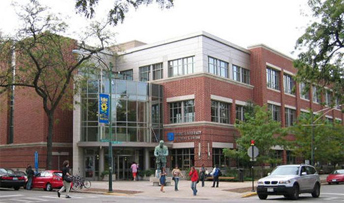 Student center at DePaul University